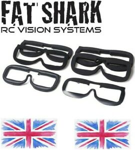 Fatshark FPV Goggles Ultimate Fit Kit Replacement Face Plate Foam Pads Dominator