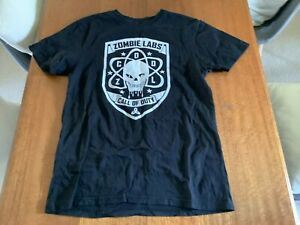C.O.D Black Ops III Zombie Labs T Shirt S