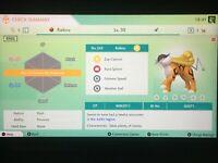 Shiny/Regular/Event Legendary Pokemon - Create your Pokemon - Pokemon Home