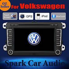 SPARK GPS DVD SAT NAV IPOD BLUETOOTH USB SD FOR VW AMAROK CADDY CARAVELLE CC EOS