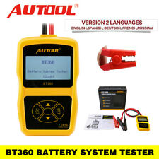 Autool Bt360 Battery Tester Car Charging Analyzer System 12V Cca Cranking Test