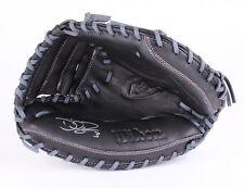 David Ross Signed Wilson Full-Size Pro Model Baseball Catchers Glove (Schwartz)