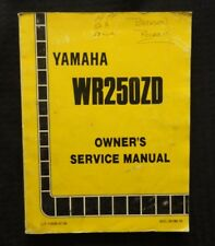 Yamaha wr400f service repair workshop manual 1998 1999 cooling array buy wr yamaha motorcycle workshop manuals ebay rh ebay fandeluxe Images