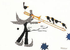 Kunstkarte: Michael Ferner - Posaune