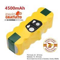 Batería 4500+ Superduración para Roomba 600 605 615 631 632 650  520 521 530 531