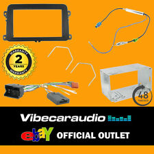 VW Passat 2005> Double Din Car CD Radio Stereo Fascia Fitting Kit CTKVW01