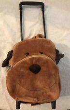 SASSAFRAS Children's Puppy, Pull Along Trolley Roller or Backpack Bag.  EUC.