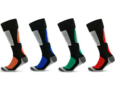 Mens Womens Thermal Ski Socks Winter Sports Socks  Breathable Long Boot Socks