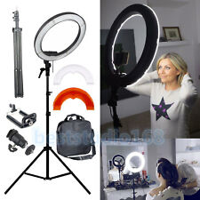"Dimmbare 35W 14"" 240PCS LED FotoStudio-Ring-Licht Schönheit bilden Selfie Video"