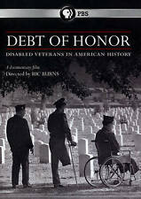 Debt of Honor: Disabled Veterans in American History (DVD, 2015) New*  SEALED