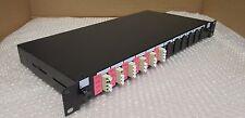 Fibre Optic Rack Mount Patch Panel 6 Ports FWO