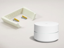 Bracket / Wall Mount For The Google WIFI in White