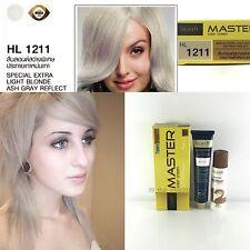 DCASH Master Light blonde ASH Gray Reflect Color Cream HL1211 Permanent Hair Dye