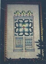 16th c Petite Elizabethan Garden LIZ TURNER DIEHL Chart pack ©1999 Historic OOP