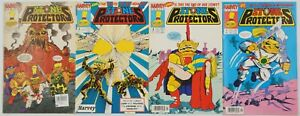 Stone Protectors #1-3 FN complete series + one-shot TROLL DOLL RARE SET 2