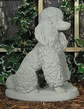 Standard Miniature Toy Poodle Labradoodle Latex Fiberglass Mold Concrete