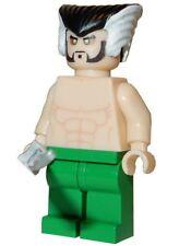 **NEW** Custom Printed - RA'S AL GHUL - Batman Villain Ras Block Minifigure