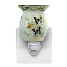 Butterfly Wax Tart Oil Plug In Warmer Night light NIB