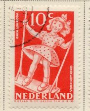 Netherlands 1948-49 Early Issue Fine Used 10c. NW-11728