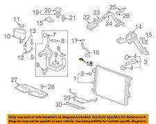 GM OEM Radiator-By-pass Pipe Lower Seal 94011603