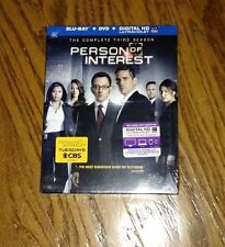 Person of Interest: The Complete Third Season Blu-ray DVD NEW SEALED