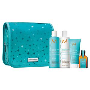 Moroccanoil Moisture Repair Shampoo, Conditioner, Mask, Oil Holiday Gift Set