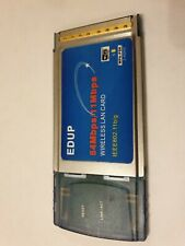 EDUP - Wireless Card PCMCIA - 54Mbps / 11Mbps