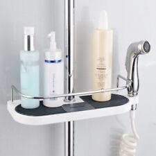 Caddy Rack Bathroom Shelf Shower Pole Storage Organiser Holder Tray Stand Tool