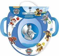 Paw Patrol  Soft Padded Toilet Training Seat With Handles Toddler Kids Blue
