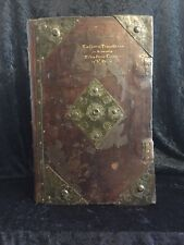 1634 Massive Folio KING JAMES BIBLE Complete ORIGINAL BOARDS Brass RARE 1611