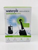 Waterpik WP-812W Complete Care 5.5 Water Flosser & Oscillating Toothbrush Black