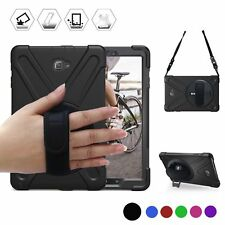 Samsung Galaxy Tab A 10.1 With S Pen P580 Case Full Cover Shoulder / Hand Strap
