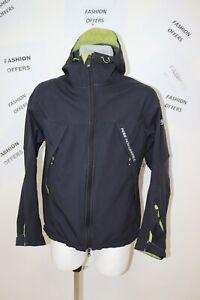 Peak Performance Mens Softshell R&D Hooded Outdoor Jacket sz Large