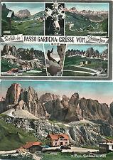 2 Karten Passo Gardena, Grödner-Joch, Südtirol, Italien   22/11/15