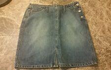 Gap Women's Blue Jean skirt size 4