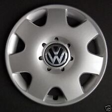 "VOLKSWAGEN VW POLO 1998-2002 14/"" COPRICERCHI COPERTINA NERA"