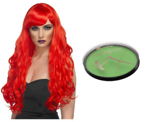 Halloween Ladies Poison Ivy Fancy Dress Horror Night Cosplay Costume Accessories
