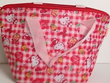 Sanrio Hello Kitty Bear Cherry Thermo Thermal Insulated Lunch Bento Pouch Bag