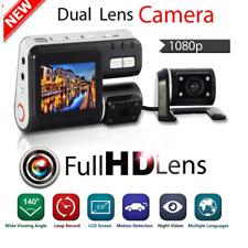 1080P HD Car DVR Camera Dash Cam Dual Lens Video Recorder G-sensor Night Vision