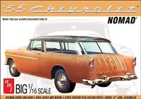 AMT 1955 Chevy Nomad Wagon 1:16 scale model car kit new 1005