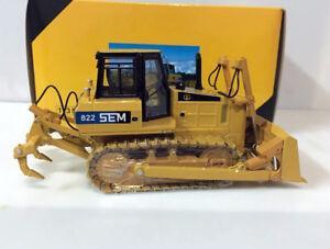 SG Scale Model Caterpillar SEM 822 Bulldozer 1/35 Scale Die-Cast
