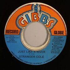 STRANGER COLE & GLADDY - JUST LIKE A RIVER (JOE GIBBS) 1968