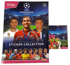 Topps Champions League Sticker 2019/2020 Album + 1 x Display - 30 Booster 19/20
