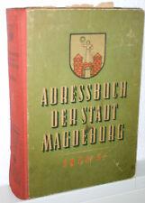 Adressbuch der Stadt Magdeburg 1950/51 Biederitz Großottersleben Olvenstedt