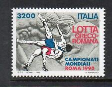 ITALY MNH 1990 SG2106 WORLD GRECO ROMAN WRESTLING CHAMPIONSHIPS