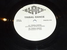 """2 UNLIMITED - Tribal Dance - Automatic African - Promotional-only 12"""" SIngle"""