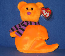 TY SHIVERS the HALLOWEEN GHOST BEANIE BABY - MINT with MINT TAG