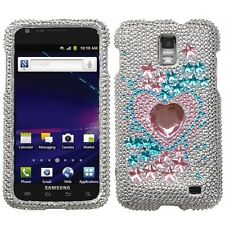 For Samsung Skyrocket Galaxy S II 2 Crystal BLING Case Phone Cover Star Track