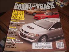 Road & Track March 2003 Mitsubishi Evolution
