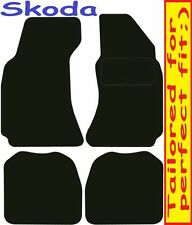Tailored Deluxe Quality Car Mats Skoda Superb 2002-2008 ** Black **